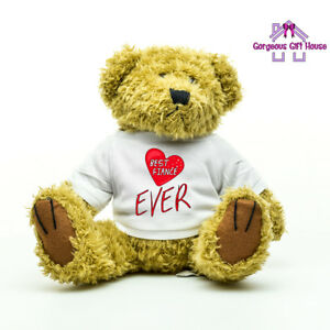 Gifts for Him, Best Fiance Ever Teddy Bear, Valentine's Day Gifts for Fiance