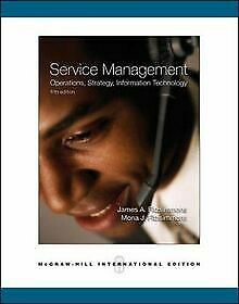 Service Management: Operations, Strategy, Informati... | Buch | Zustand sehr gut