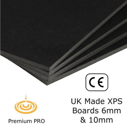 Electric Underfloor Heating Insulation Boards for underfloor heating kits Blk