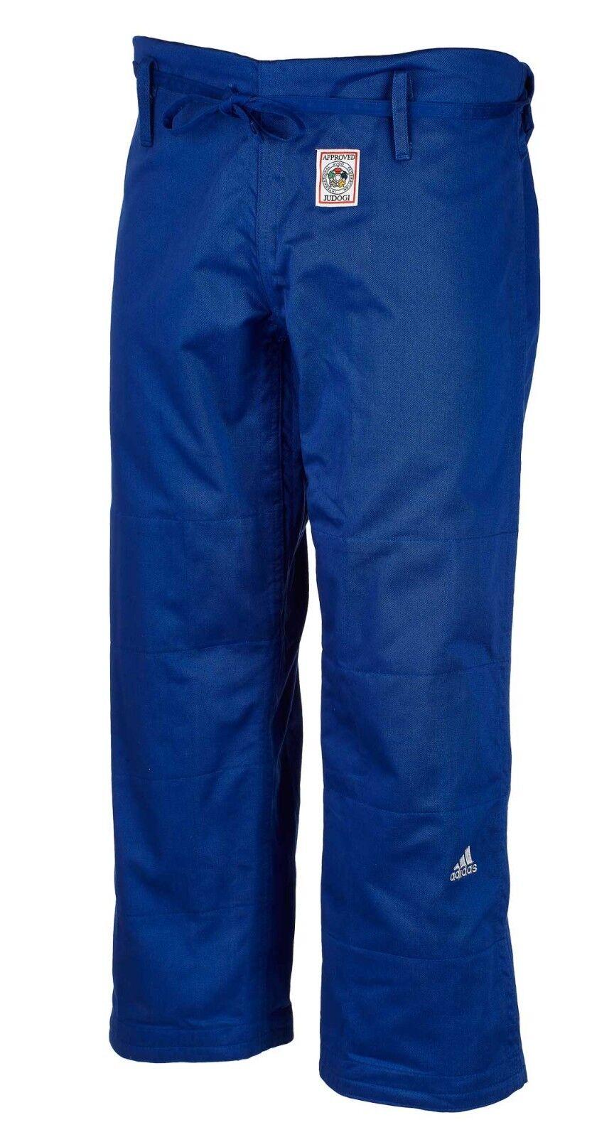 Adidas Judo Trousers  Champion II  IJF Blau jt275b-Judo-Trousers-Hose