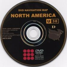 Newest 2016 Gen 4 Lexus Toyota GPS Navigation Map Update DVD Version U30 v 15.1