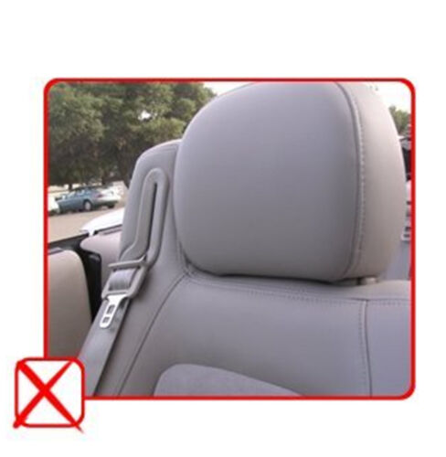 PU Leather 2 Front Car Seat Covers to Chevrolet 851 Gray//Black