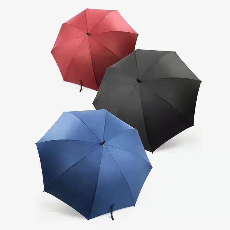 Alta calidad fibra vidrio costillas de lujo paraguas heavy duty