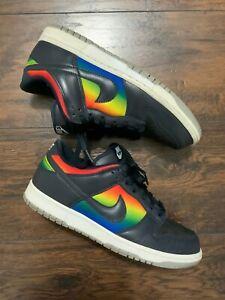 Pre-owned Nike Dunk Low Rainbow Dark