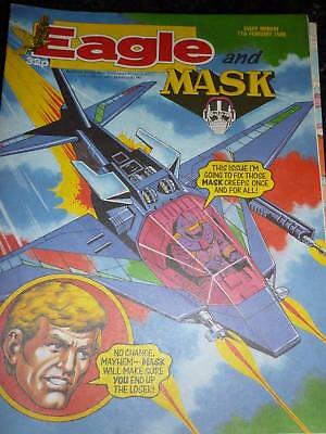 UK Paper Comic EAGLE /& MASK Comic Date 18//03//1989