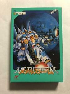 Juryoku-Soukou-Metal-Storm-Famicom-FC-Irem-Used-Japan-Action-Boxed-Tested-1992