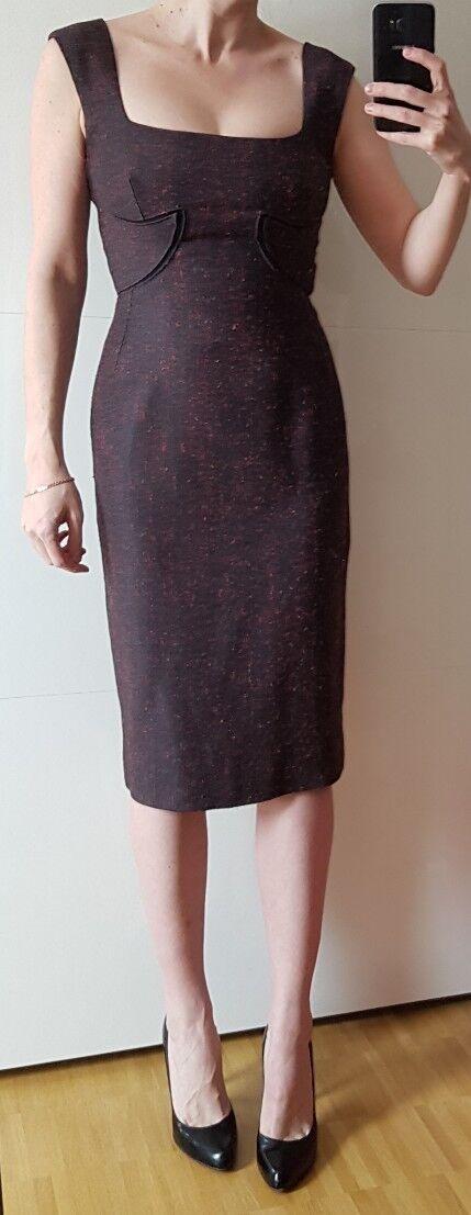 Original ZAC POSEN Abendkleid KLEID dress ROBE Etuikleid Midi COCKTAILKLEID tags