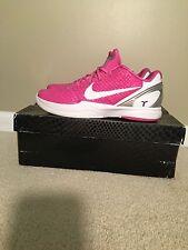 Kobe 6 Kay Yow Men's Size 12 Breast Cancer Think Pink