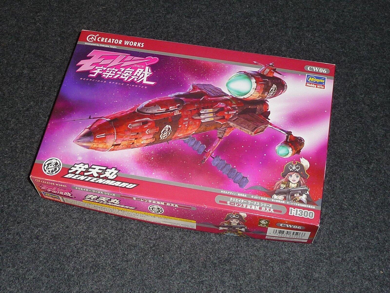 BODACIOUS SPACE PIRATES   Hasegawa 1 1300 Benten Maru   Limited Edition   NEW