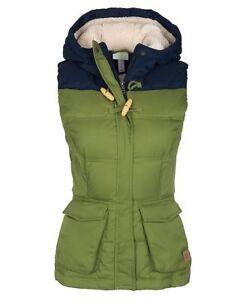 Details zu adidas NEO Women's SHRP Down Gilet Vest Small Khaki Green New