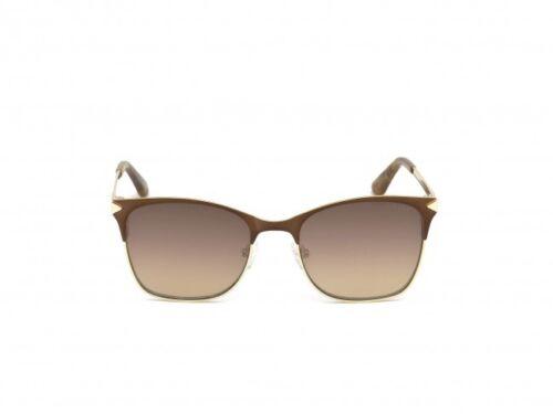 Mirror Brown 53mm GU7517 NIB NWT Guess Sunglasses GU 7517 49G Matte Dark Brown