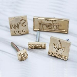 Image Is Loading Custom Made Branding Iron Leather Stamp Compatiable With
