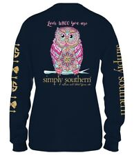 9ddcfa7bb item 2 Owl Love Whoo You Are Long Sleeve Simply Southern Tee Shirt -Owl Love  Whoo You Are Long Sleeve Simply Southern Tee Shirt