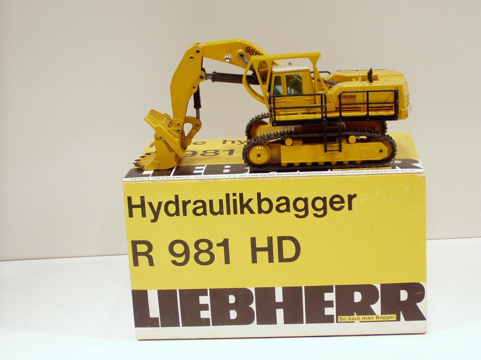 Liebherr 981HD Shovel - 1 50 - CEF Replex  104 - N.MIB