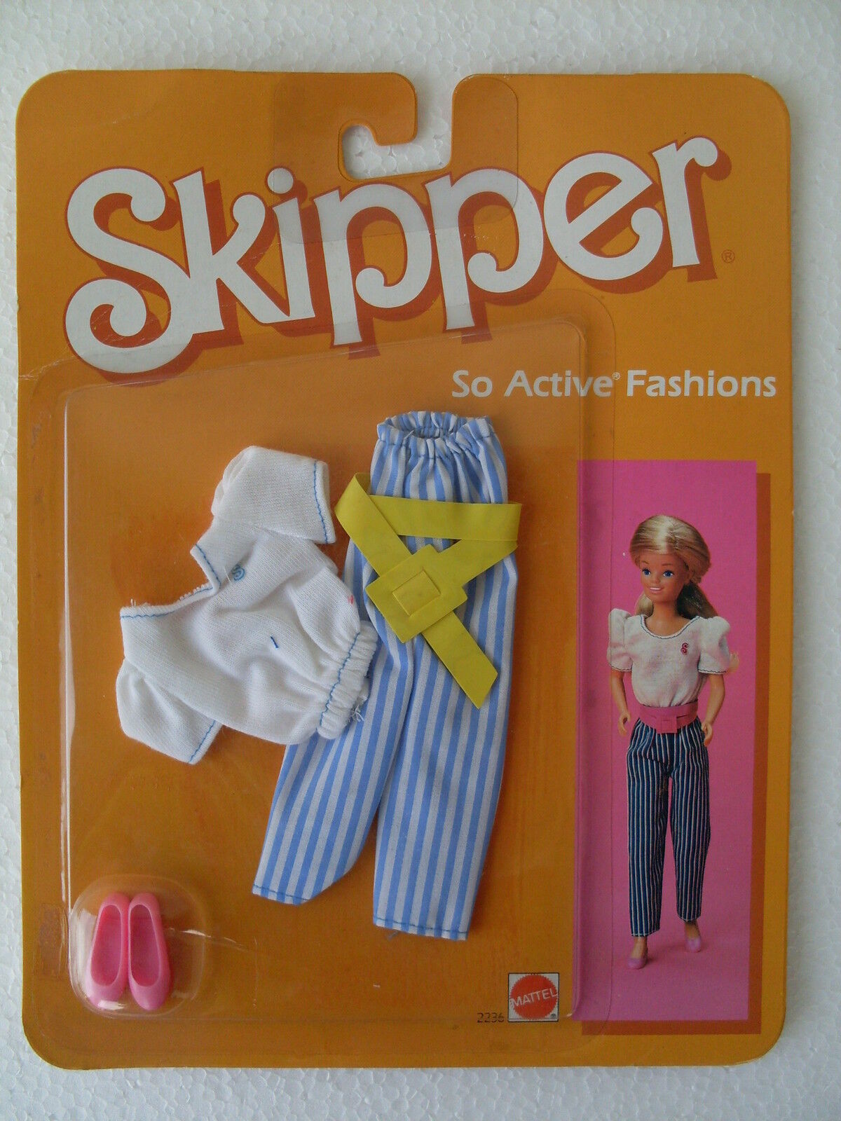 skipper abiti tempo libero vestiti dress doll doll doll active fashions s 2018 NRFB 2236 3a2355