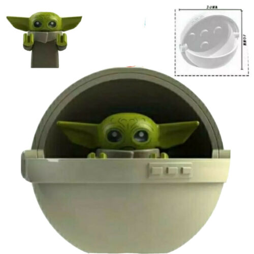 Baby Yoda The Mandalorian Mini Figure Star Wars Fits Lego The Baby Toy In Pod