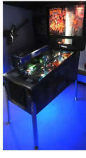 Monster Bash  Pinball Cab light mod BLUE