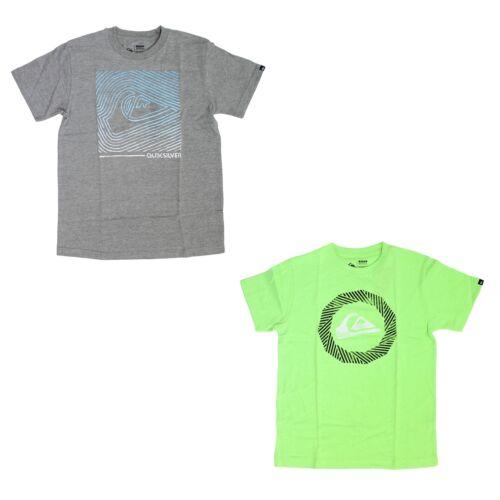 Crewneck Top Short Sleeve Quiksilver T-Shirt for Boys