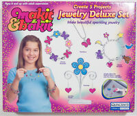 Makit & Bakit Sparkling Deluxe Jewelry Set Crafts By Quincrafts