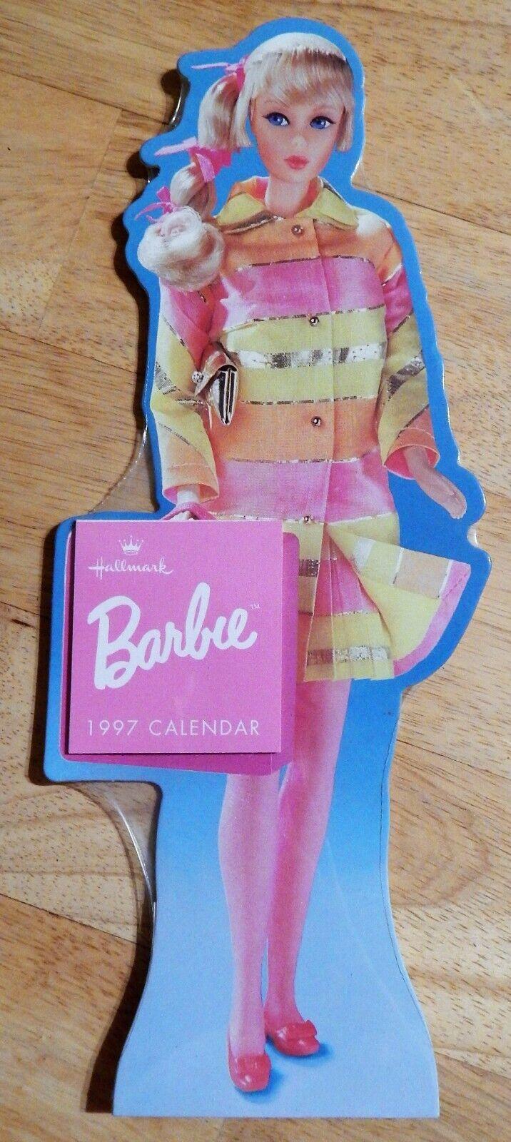 NEW Barbie Doll Hallmark Calendars 1996 /& 1997 Factory Sealed