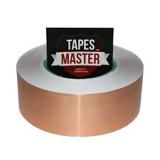 2 X 55 Yds 50mmx50m Copper Foil Tape Emi Conductive Adhesive Ship From Usa