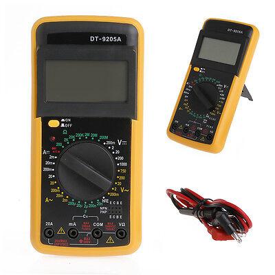 DT-9205A Digital Multimeter LCD AC/DC Ammeter Resistance Capacitance Tester