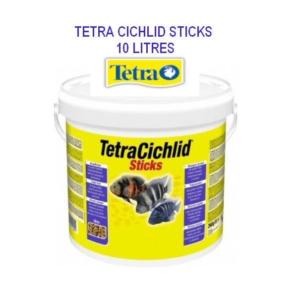 Tetra cichlide stick 10 litres <<< 4,79€ le litre >>>