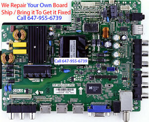 RCA RLDED4016A MAIN BOARD ** REPAIR SERVICE ONLY ** READ