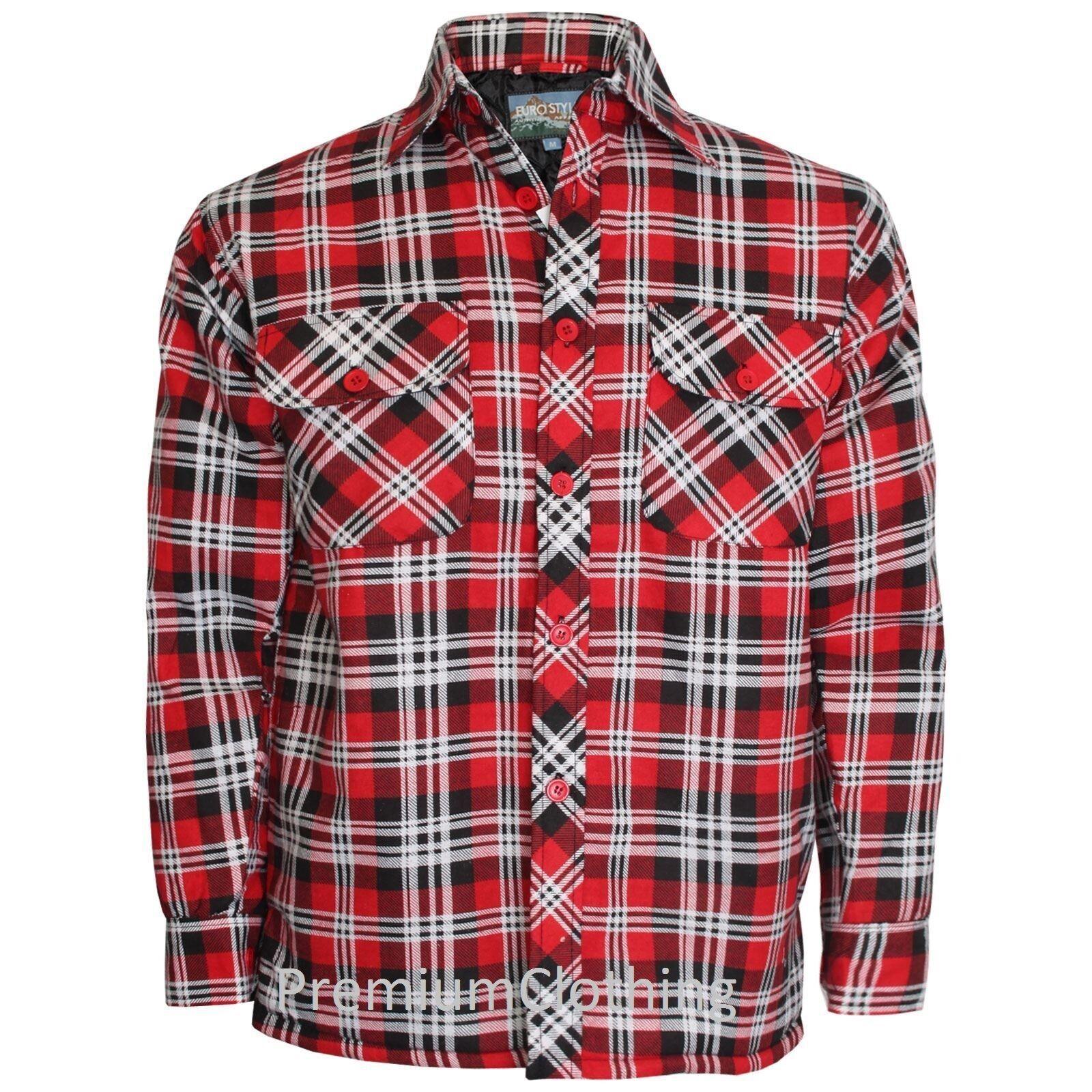 Casual À Chemise Homme Lumberjack Flanelle Carreaux Sqwn41