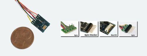 ESU 54688 decoder LokPilot Micro v4.0 MM//DCC//SX NEM 651 spina 6-pin