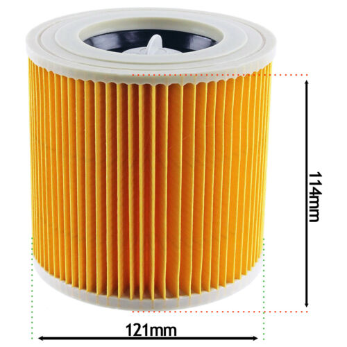 Karcher Wet and Dry A2554Me WD3.300 M A2064 PT Vacuum Cleaner Filter Cartridge