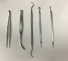 Vinyl Weeding Pick Tools 5 pc Stainless Steel Professional Sign / Signmaking