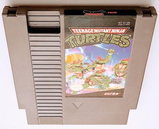 Teenage Mutant Ninja Turtles (Nintendo Entertainment System, 1989) TMNT NES