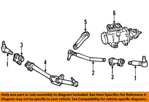 ford oem 08 10 f 250 super duty steering drag link ac3z3304a ebay nissan titan steering linkage diagram image is loading ford oem 08 10 f 250 super duty