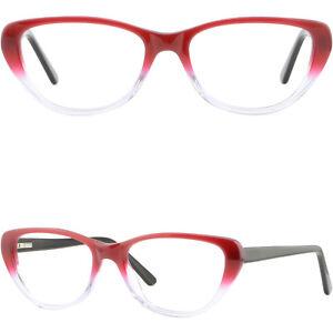 f7d9d5cfbf3 Image is loading Large-Plastic-Womens-Frames-Cat-Eye-Prescription-Glasses-