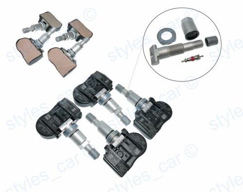 4x VOLVO S60 V60 S40 C30 C70 XC60 S40 Pneumatico Pressione Sensore Tpms 433MHZ 31414189