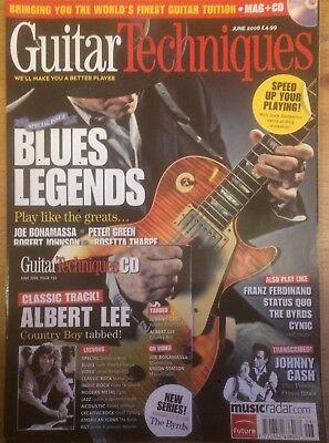 June 2008 Guitar Techniques magazine /& CD