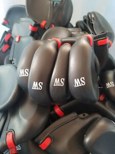 Defective-Print-8-Pcs-Set-Golf-Club-Caps-Iron-Head-Protect-Covers-Rubber-Sleeve