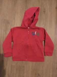 2f51b31df7a8 Designer Debenhams John Rocha hoodie Jacket Red age 12-18 months ...