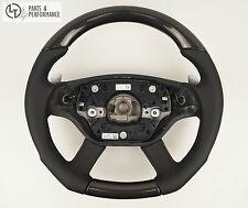 Carbon Leder Lenkrad für Mercedes Benz CL W216 S W221 AMG Schaltwippen