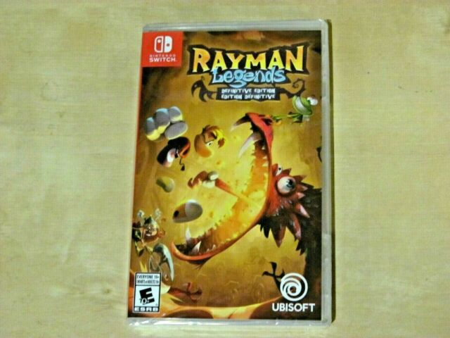 Rayman Legends: Definitive Edition (Nintendo Switch, Brand New))