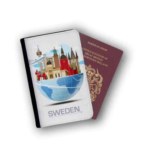 Stockholm Suède Nordic Scandinavie mounatains Voyage protection Flip cover case
