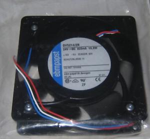 For PAPST DV5214//2N fan 24V DC 825mA 19.8W 127*127*38mm