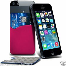 Protective Stylish Fitted 3M Silicone Adhesive Smart Credit / Debit Card Pouch