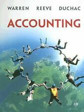 Available Titles CengageNOW Ser.: Accounting by Jonathan E. Duchac, Carl S. War…