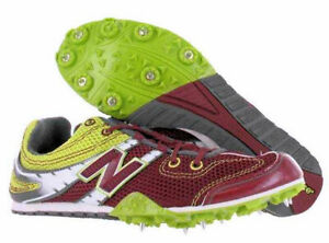 New-Balance-MD506RG-Cross-Country-Track-Spikes-New-Unisex-Maroon-Yellow