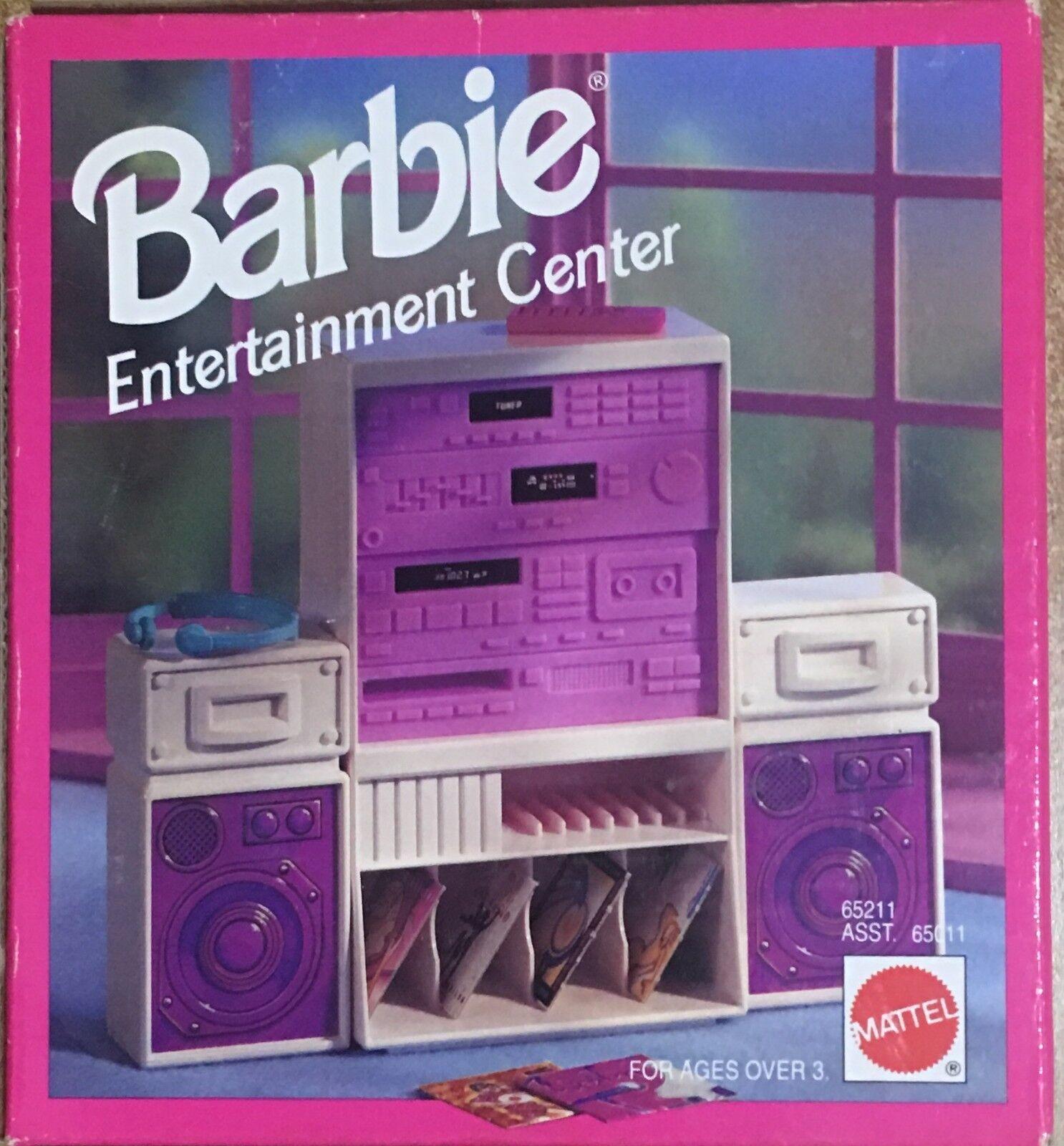 Barbie Mattel Entertainment Center RARO RARO RARO  2eda42