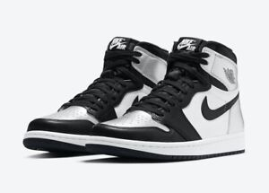 Details about New release Nike Air Jordan 1 Retro High OG Woman's Silver Toe/Metallic Silver!