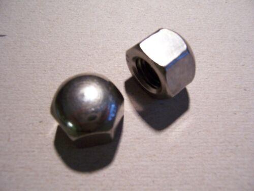 Hutmuttern Bas Forme Hexagonal écrous avec Hutmuttern Écrous Plat En Acier Inoxydable