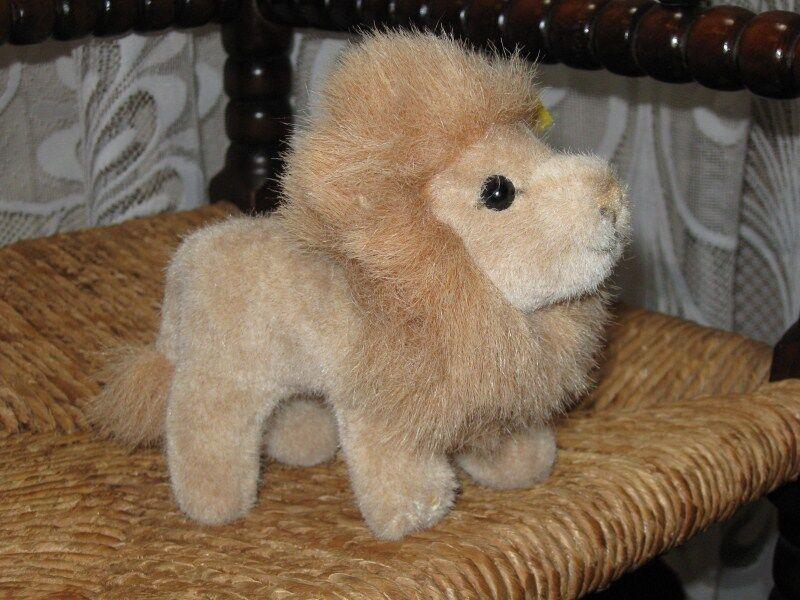 Steiff Leo Lion 040801 1991 14CM 14CM 14CM IDS 93b982